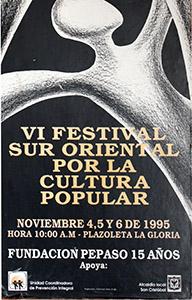 Afiche VI Festival